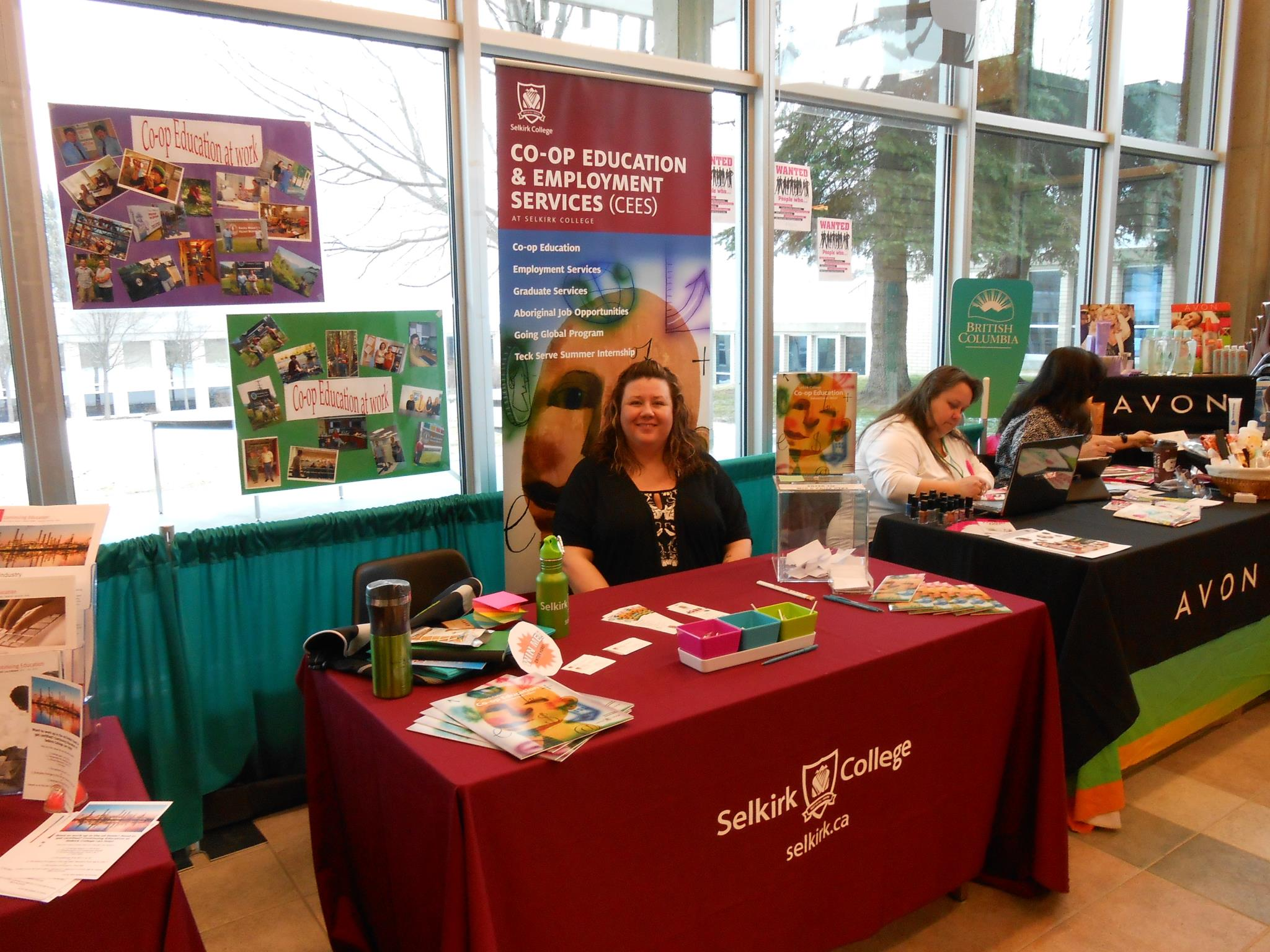 Selkirk college career & education fair co-op CEES presenters
