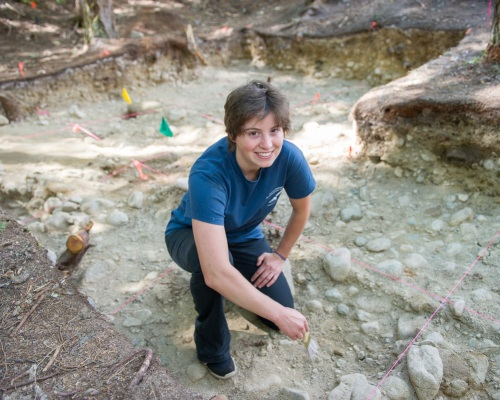 Micheline Marr Follows Her Passion for Archaeology at Selkirk
