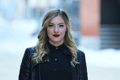 Amber Beckjord graduated from the Hairstylist Program at Selkirk College in 2014. The 20-year-old stylist now works at Union Salon in Vancouver and enjoys her chosen profession and the creative opportunities it continuously provides.