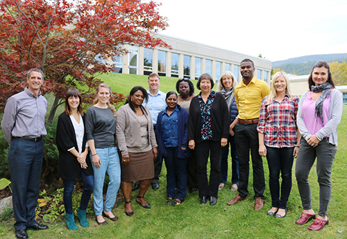 Instructors from Suriname's COVAB technical school came to the West Kootenay last year as part of the training for the upgraded gerontological program being developed by Selkirk College.