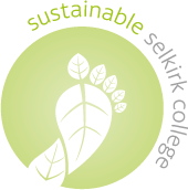 selkirk college sustainability logo
