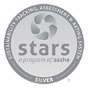 Sustainability recognition silver star