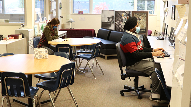 Study Spaces on Campus!