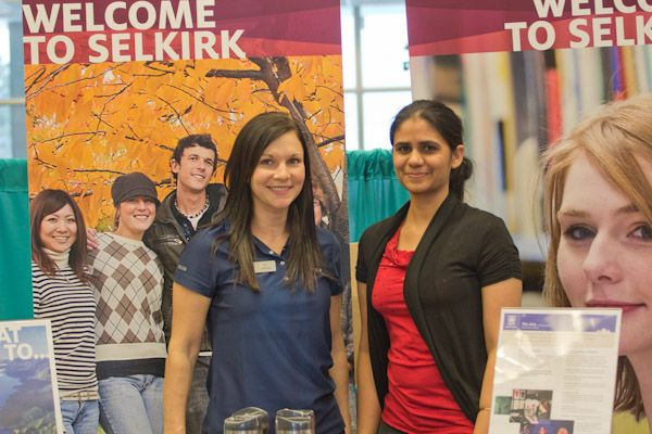selkirk college career & education fair recruiting team
