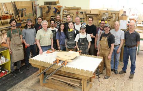Selkirk College Fine Woodworking Program Set For Year End