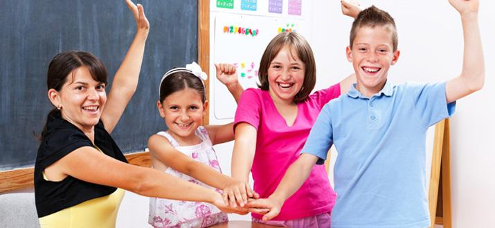 Enjoy the benefits of smaller class sizes.