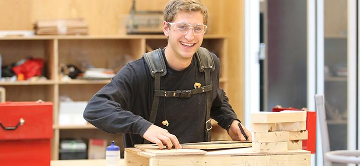 Gain practical on-site work experience