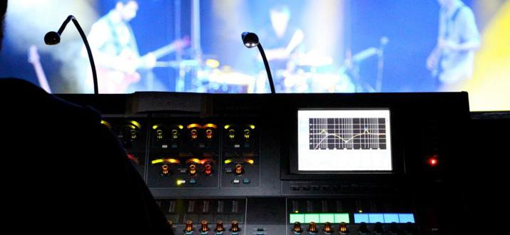 Lighting, audio mixing & recording