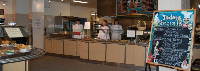 Selkirk college 39 s tenth street campus food service for 10th street salon