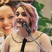 Maddie Snelgrove was chosen as the UAS representative this past spring to address fellow students and faculty at the annual UAS Awards which was held in The Pit on the Castlegar Campus.
