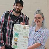 Students in Selkirk College's Digital Arts & New Media Program are preparing Mary Hall on Nelson's Tenth Street Campus for a visual celebration to showcase their talents in a variety of disciplines. The annual Year End Show runs April 13 and 14.
