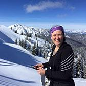 At home in the mountains with a background made for travel in tough terrain, Selkirk College Instructor Doris Hausleitner pursues her passion for wildlife research on the trail of the elusive wolverine.