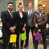 Students in the School of Business were challenged to put their knowledge and skills to work in a case competition that took a closer look at economic development for the Atikameksheng First Nation in Ontario.