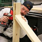 A new winter recreation amenity will soon be available in the region when the Blewett Conservation Society's outdoor rink project is completed. Getting an assist on the project is the Selkirk College Carpentry Foundation Program students who have been putting together the pieces in the Silver King Campus shop and will spearhead the installation of the boards.