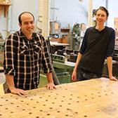 They are on the leading edge of international furniture design and passing the passion of stellar craft to learners at Selkirk College. Instructors David Ringheim and Scott Stevens are part of the team in the School of Industry & Trades Training who are making a difference in the lives of students.