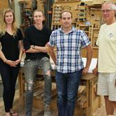 It's one of woodworking's biggest student talent showcases on the planet and it takes place under the bright lights of Las Vegas. A pair of Selkirk College Fine Woodworking Program students were part of an elite group of post-secondary talents who had impressive pieces included in the AWFS's Fresh Wood Competition.
