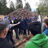 Discovering a new ecosystem and exploring the importance of Indigenous culture within the resource industry was the focus of a recent journey west to Merritt for students in the Selkirk College Forest Technology Program.