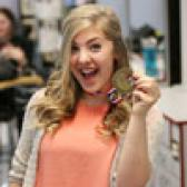 Amber Beckjord put an exclamation mark on her bright future last week when the 17-year-old Selkirk College student captured a gold medal at the BC Skills Competition in Hairdressing.