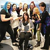 Students pointing their education towards a career as a hairstylist are now ready to put theory into practice at the Silver King Campus Hair Salon that is open and currently booking appointments for the public.
