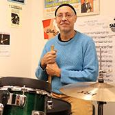 For three decades, Contemporary Music & Technology Program instructor Steven Parish has been mentoring the future of the industry on Nelson's Tenth Street Campus. On October 25, the drum instructor will again join his music faculty colleagues on stage for the highly anticpated Faculty Concert.