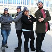 The Coldest Night of the Year walk for homelessness has been making a difference in communities across Canada, raising millions of dollars to help those who are struggling. Third-year Selkirk College Nursing Program students are an important part of the success of the walk in our region, this year helping organize both the Nelson and Castlegar events.