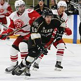 The Selkirk College Saints will pack their bags for four straight road games to Vancouver Island and the Lower Mainland, but before hitting the road the locals captured a vital two points against the Simon Fraser University Clan at their home arena.