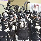 Needing a victory to keep hopes alive for playing in front of a home crowd to start the BCIHL post-season, the Selkirk College Saints pushed Saturday's game against Simon Fraser University to extra time before settling the outcome and building even more drama for the final regular season game.