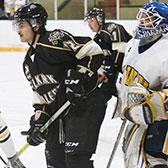A balanced offensive attack and strong goaltending have helped the Selkirk College Saints off to a perfect 10-0 start to the British Columbia Intercollegiate Hockey League season. The student athletes now hit the road for the remainder of the first semester portion of the season.