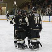 Needing a big weekend to edge closer to hosting the first round of the BCIHL playoffs, the student-athletes on the Selkirk College Saints accomplished their mission with two important wins against rival Vancouver Island University.