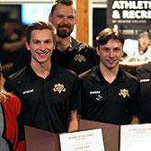 After another successful season, the Selkirk College Saints closed its 2018-2019 chapter with the annual awards banquet that recognized contributions both on and off the ice.