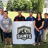 After consulting the community, Selkirk College is sticking with its team name while embarking on a new era with an exciting new logo that pays tribute to the incredible mountain surroudings of the West Kootenay and Boundary region.