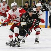 With the stretch drive to the British Columbia Intercollegiate Hockey League playoffs in its final stages, the Selkirk College Saints aim to lock down home ice advantage for the first round with a match-up against the Simon Fraser University Clan.