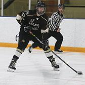 Needing a pair of weekend wins to stay in the hunt for the all-important home-ice advantage in March's BCIHL playoffs, the Selkirk College Saints topped the University of Victoria Vikes in back-to-back victories at the Castlegar & District Recreation Centre.
