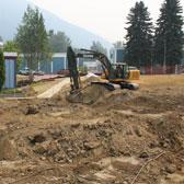 Students and staff at the Selkirk College Silver King Campus are preparing for a new learning era in Nelson courtesy of a major project that is refreshing the aging facility. One of the most visible elements of the renewal project has now started to take shape.