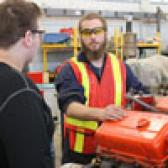 More than 200 high school students descended on the Selkirk College Silver King Campus in Nelson on Friday to get a closer look at gateways into trades training.