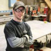 Tyler Hwalstad knew from a young age that his future was in the trades, but once he discovered the challenge of working with metal he was hooked.