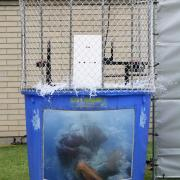 And Stephen Harris gets dunked.