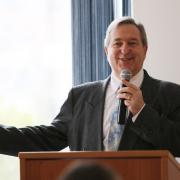 Selkirk College Vice President of College Services Gary Leier was the emcee for the afternoon.