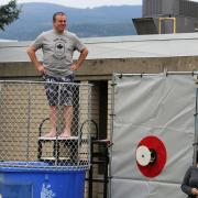 The School of Business at Selkirk College dunk tank raised money for the 50th Anniversary Legacy Fund. You can find out more about this special fundraising effort that will assist future students at: http://selkirk.ca/about-us/50-years/support-future-students