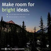 Make room for bright ideas