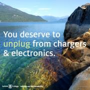 You deserve to unplug from chargers and electronics