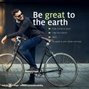 Be great to the Earth