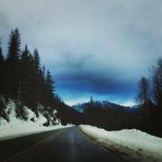 "Photo by Jackie King, Esthetics Student ""Frosty Morning Drives to Selkirk"""