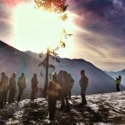 """Just Another Day at the Office - Forestry Kaslo Trip"" by Adam Angevaare"