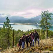 """Photo by Mitchell Rosko, Business Student """"Hiking the kootenays"""""""