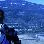 """Photo by Scott Martens, Peace Studies Student """"Hiking before class"""""""