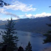 """Slocan Viewpoint"" by Isabel Silveira"