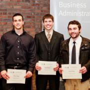 Third Place Marketing Trade Show: Shawn Reicherts, Cameron Opperman, Guy Dilena