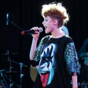 "Kiesza has toured all around the world in the last two years. She told students one of her most important elements of performing on stage: ""I try to look every person in the eye... they want you to notice them."""