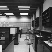 Science lab, ready for students.
